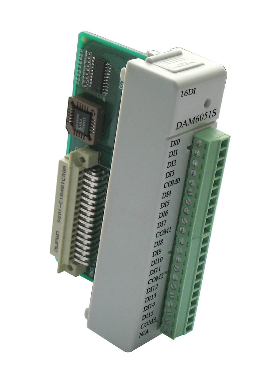 阿尔泰DAM6051S-带LED显示的16路隔离数字量输入