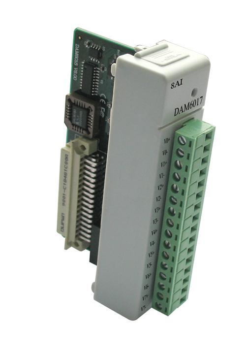 ART-阿尔泰DAM6017-16位 8通道模拟量输入模块