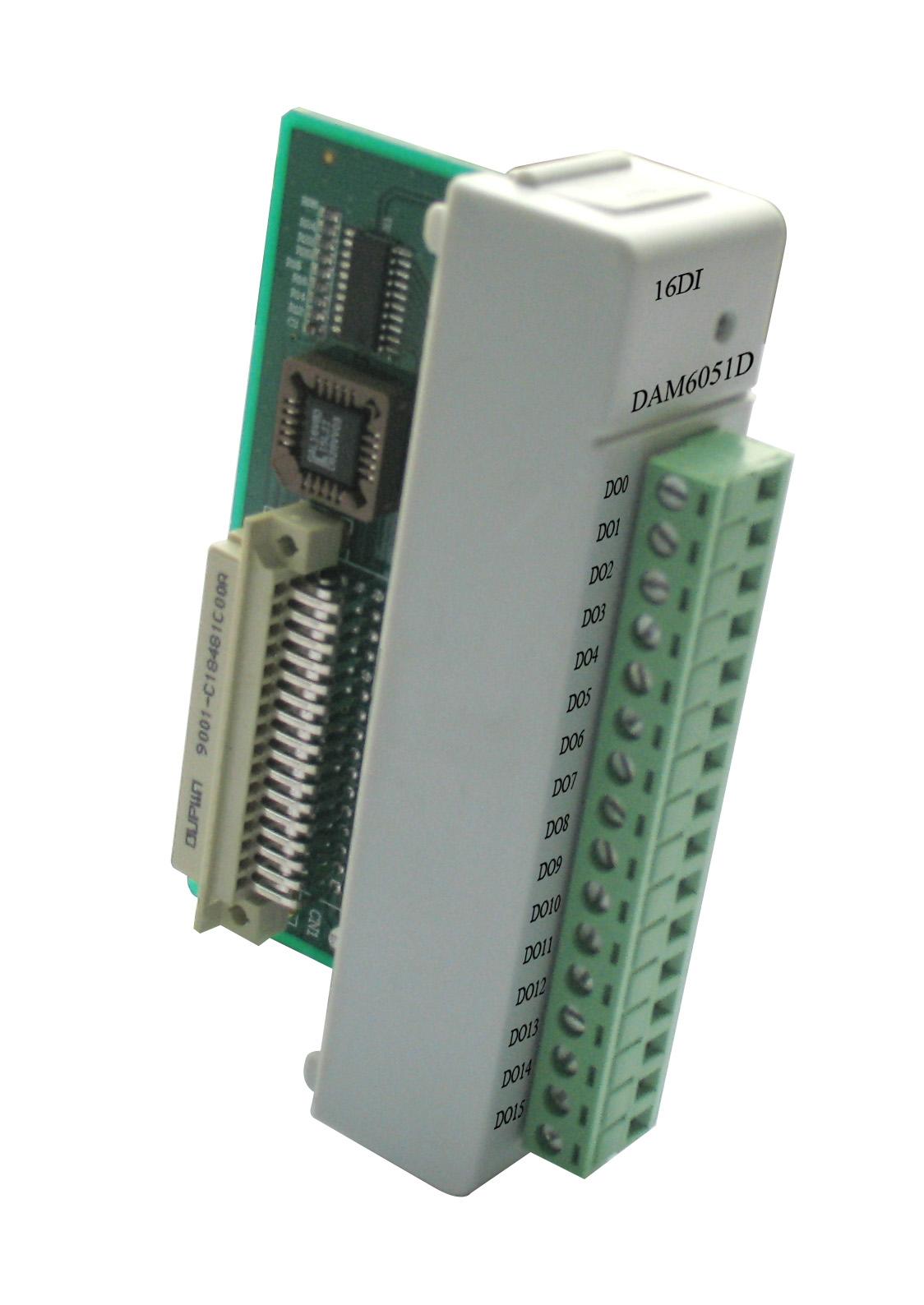 阿尔泰DAM-6051D-带LED显示的16通道数字量输入