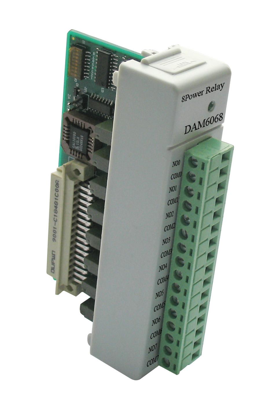 ART-阿尔泰科技DAM6068-8路继电器输出模块