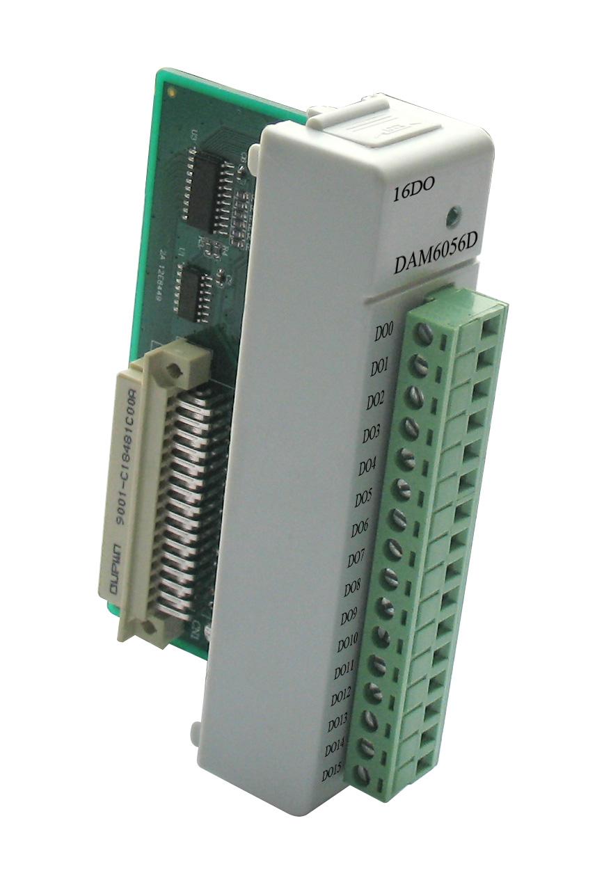 阿尔泰DAM6056D-带LED显示的16路数字量输出模块