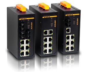 东土科技KIEN7009卡轨式网管型以太网交换机