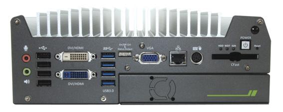 上海宸曜Nuvo-3000带扩展盒的无风扇电脑