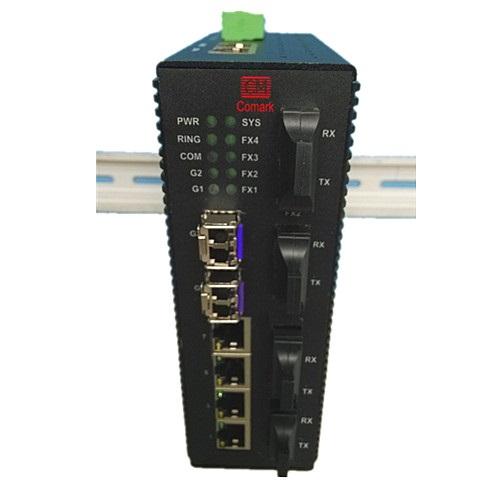 訊記5口千兆配置型工業以太網交換機