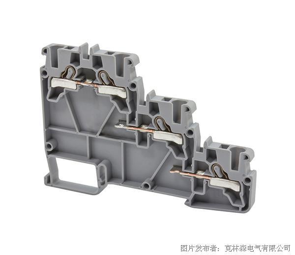 克林森 压入式(弹簧式)传感器接线端子PYK 3S