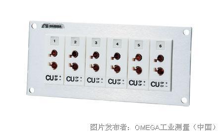OMEGA   SJP系列插座面板带色标的标准连接器