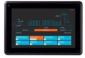 北尔电子iX T15BM海事专用操作面板