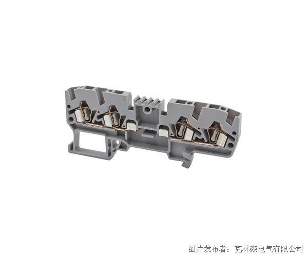 克林森 YBK系列弹簧夹导轨端子326209 YBK 2,5 CX2