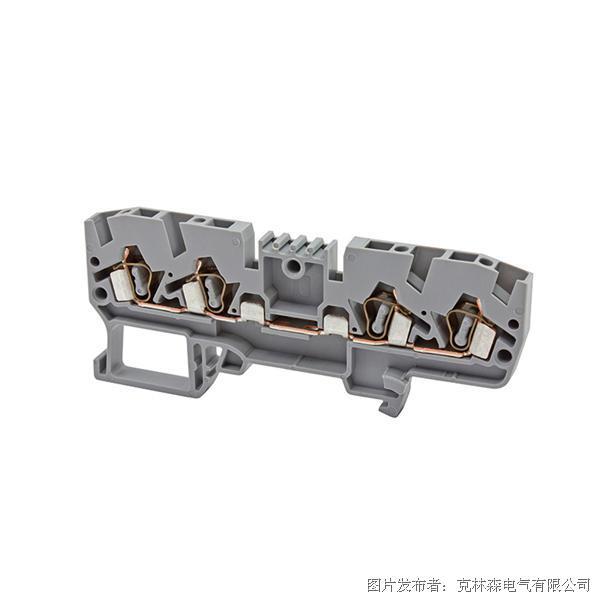 克林森 YBK系列弹簧夹导轨端子326109 YBK 2,5C