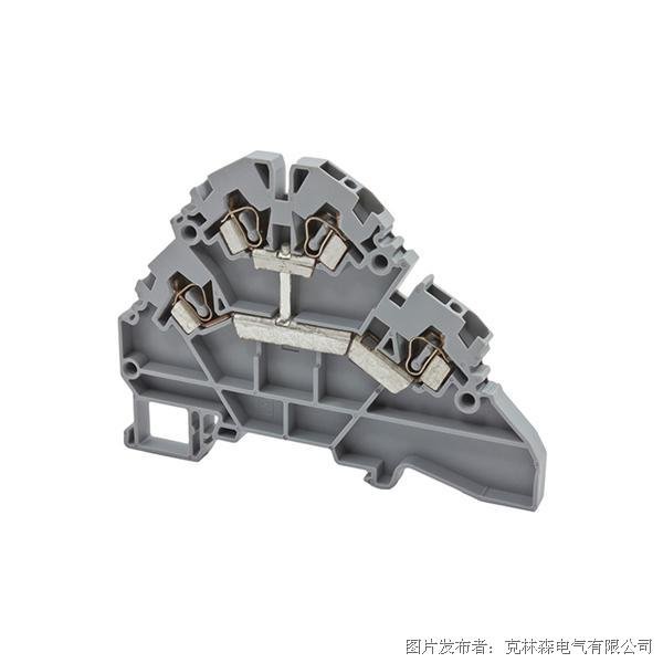 克林森 YBK系列多层弹簧夹直通端子YBK2.5-2FK