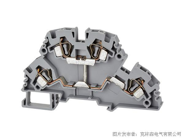克林森 YBK系列多层弹簧夹直通端子YBK 4-2F