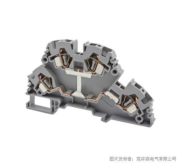 克林森 YBK系列多层弹簧夹直通端子YBK4-2FK