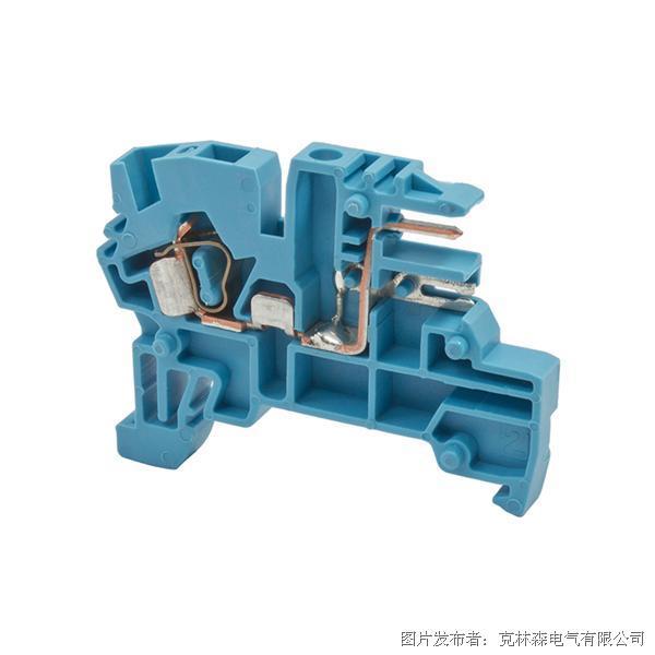 克林森 弹簧夹导轨PCB连接端子PCY 2,5N