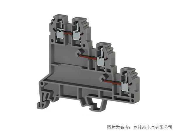 克林森 螺丝夹紧导轨传感器端子PUK 3S