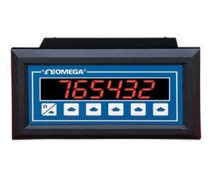 OMEGA  1⁄8 DIN速率计、累加器和批量控制器