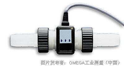 OMEGA    FTB600B系列全塑超低流量传感器