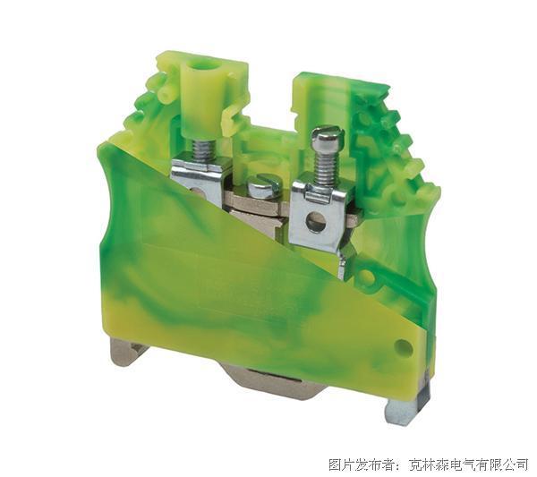 克林森 AVK系列AVK2,5/4T螺栓式接地端子