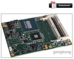 罗升DFI HM960-QM87COM Express Basic6模块
