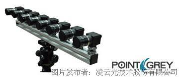 PointGrey 8目裸眼3D成像系统