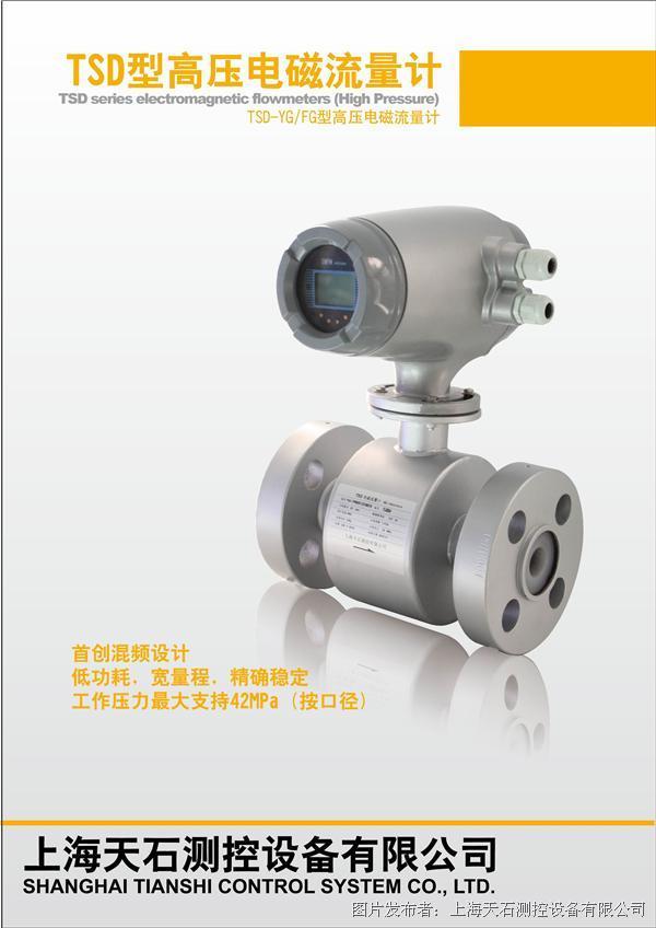 天石测控 TSD系列高压防爆电磁流量计