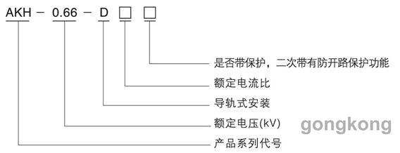 安科瑞AKH-0.66/D型导轨式电流互感器
