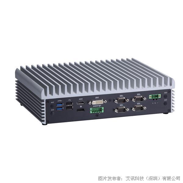艾讯科技eBOX671-885 PoE宽温无风扇嵌入式视觉系统