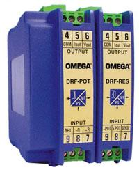 OMEGA电阻输入和DRF-PT电位计输入信号调节器