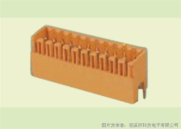 科发 插拔式PCB接线端子 KF2EDGEVC-3.5