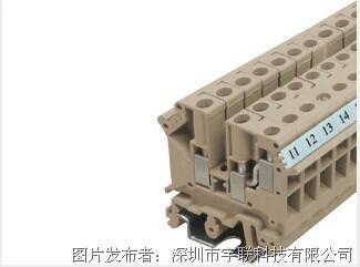 台湾进联DECA螺丝固定型接线座系列CDU4/3N、4/4N平方导轨端子