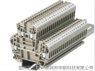 台湾进联(DECA)双层型接线座系列CDK4/6平方导轨端子