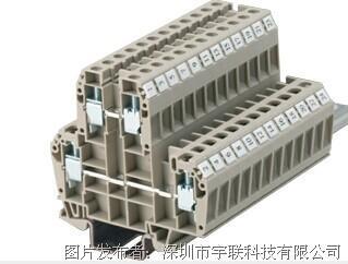 台湾进联(DECA)双层型接线座系列CDK10平方导轨端子
