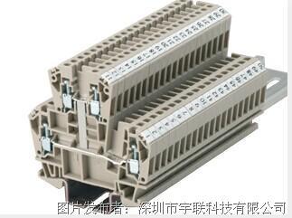 台湾进联(DECA)双层型接线座系列CDK2.5V平方导轨端子