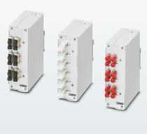 菲尼克斯用于DIN导轨的紧凑型光纤接续盒