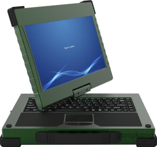 阿尔泰科技 APC-1013可360度旋转屏幕军工笔记本