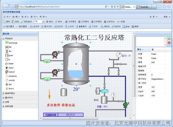 龙博中科  矢量图形控件Web版