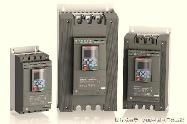 ABB  PSTX軟起動器