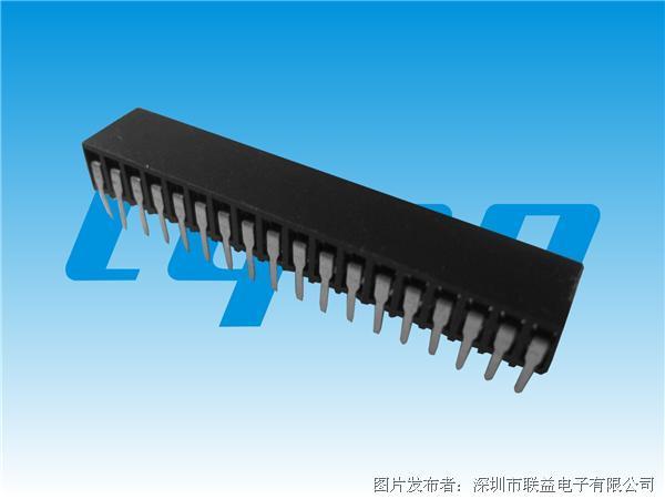 联益 2.54mm间距排母系列连接器