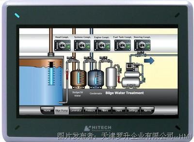 Hitech   PWX8710T-N 7寸人机界面