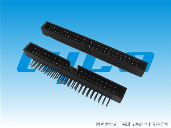 联益 2.54mm间距简牛系列连接器