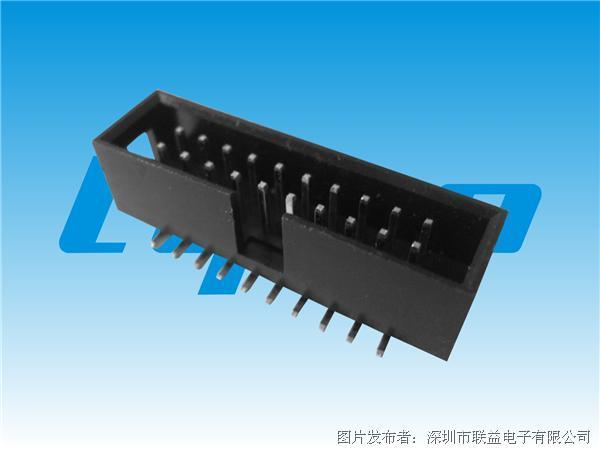 联益2.54mm间距简牛系列连接器