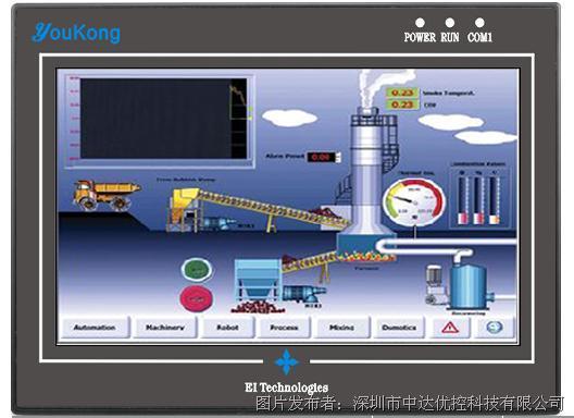 中达优控 OP320-430A 触摸屏