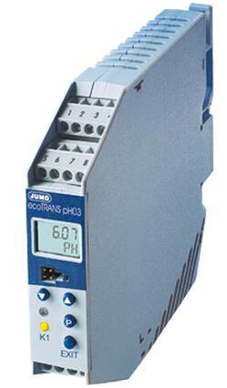 JUMO ecoTRANS pH 0-智能型变送器/ 控制器pH/氧化还原电压与温度(202723)