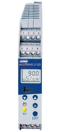 JUMO ecoTRANS Lf03-电导率及电阻与温度变送器/控制器 (202732)