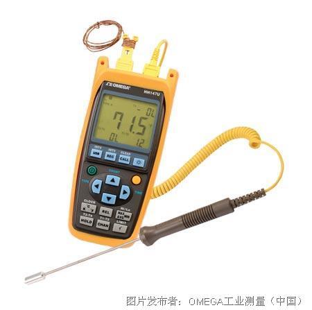 欧米茄HH147U系列四通道手持式数据记录温度计