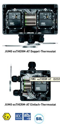 JUMO ex-THERM-AT 表面安装防爆温度开关(605055)