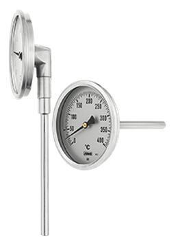 久茂 工业型双金属度盘温度计(608002)