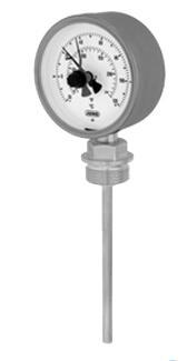 久茂 变压器型双金属度盘温度计(608005)