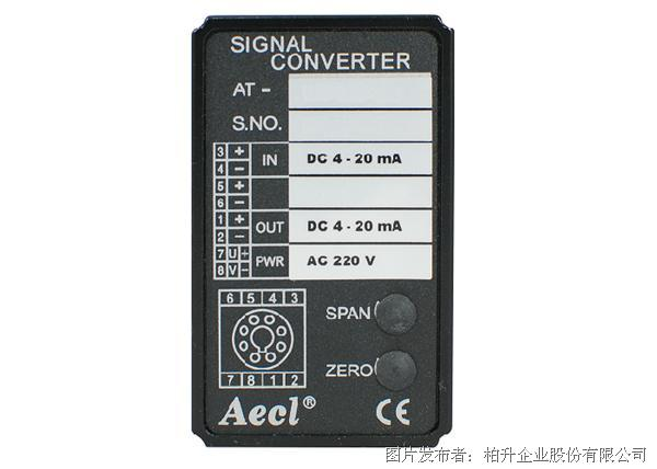 柏升 AT-740- JZ, KZ, EZ, TZ, RZ 热电偶温度转换器