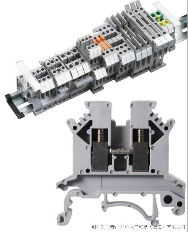 TBUK系列通用接线端子,具有以下特点和优势: *通用型端子具有通用安装固定卡脚,可以安装在U35型和G32型。 *封闭型的螺丝导引孔,能有提供理想的螺丝刀操作使用。 *对于多个截面等级的端子都配备有配件,如终端隔板、分组隔板等,使用灵活可靠。 *电位分配可同时通过接入端子中央的固定式横联及边插式桥接件来实现 *产品符合IEC60947-7-1标准 如需了解更多信息,请访问(町洋电气贸易(上海)有限公司)官网