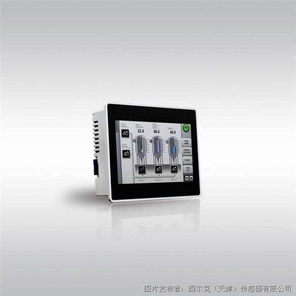 图尔克 使用CoDeSys 3编程/可视化的HMI产品